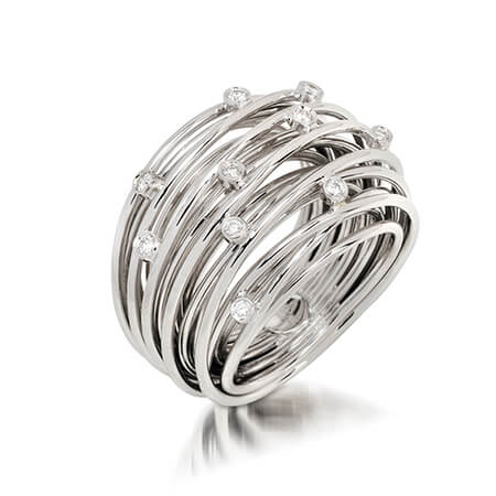 18KW Spider Collection Ring