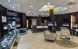 rice village diamonds store interior picture