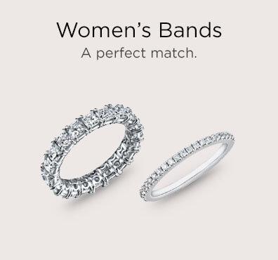 woman's wedding bands houston